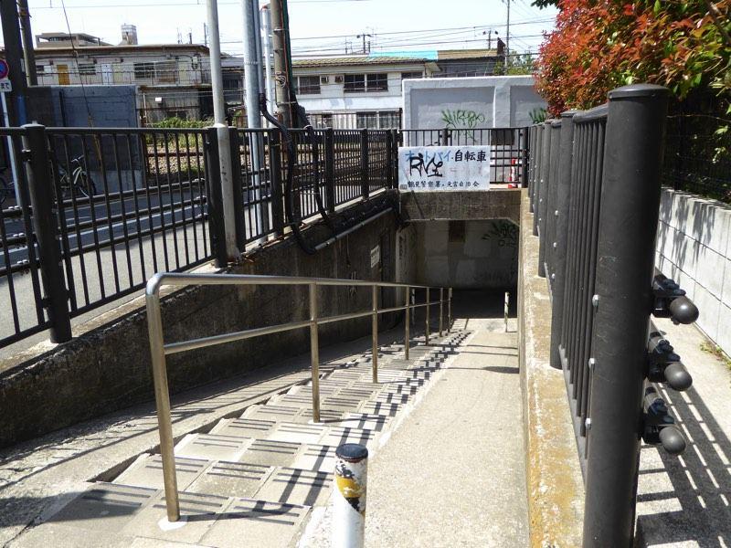 鶴見の地下道