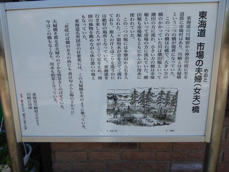 川崎宿史跡めぐり 夫婦橋