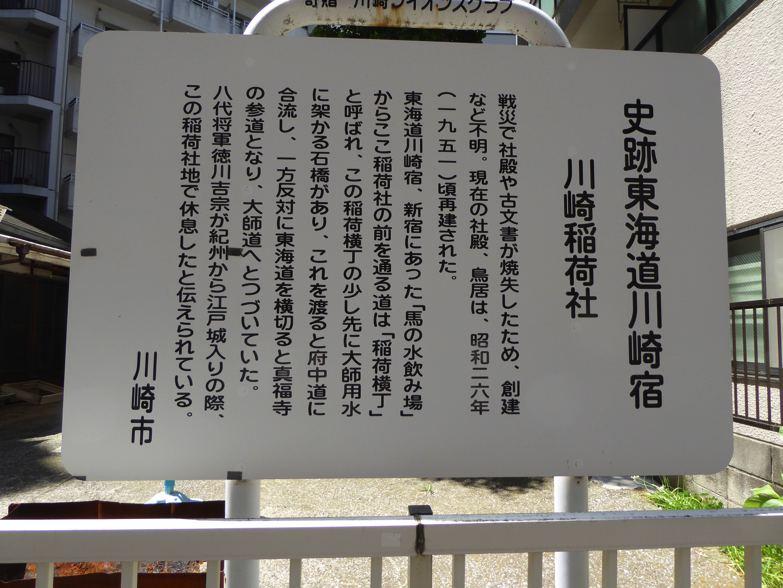 川崎宿史跡めぐり 川崎稲荷社