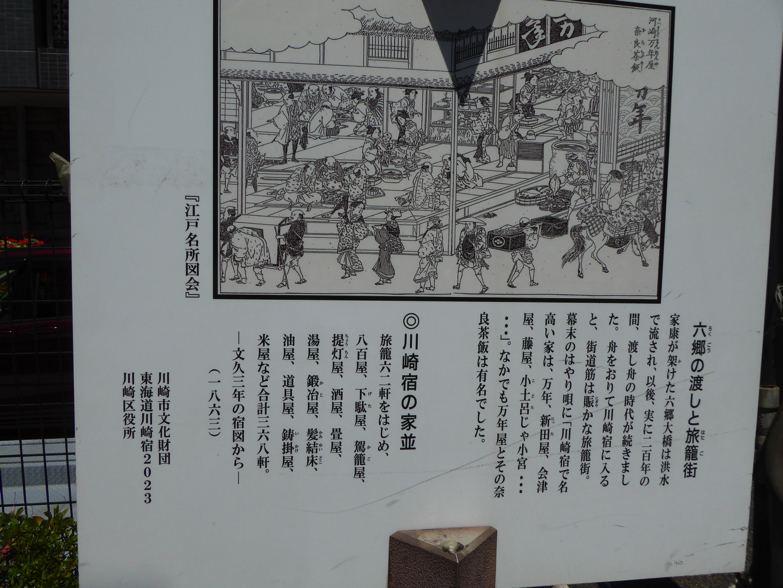 川崎宿史跡めぐり 六郷