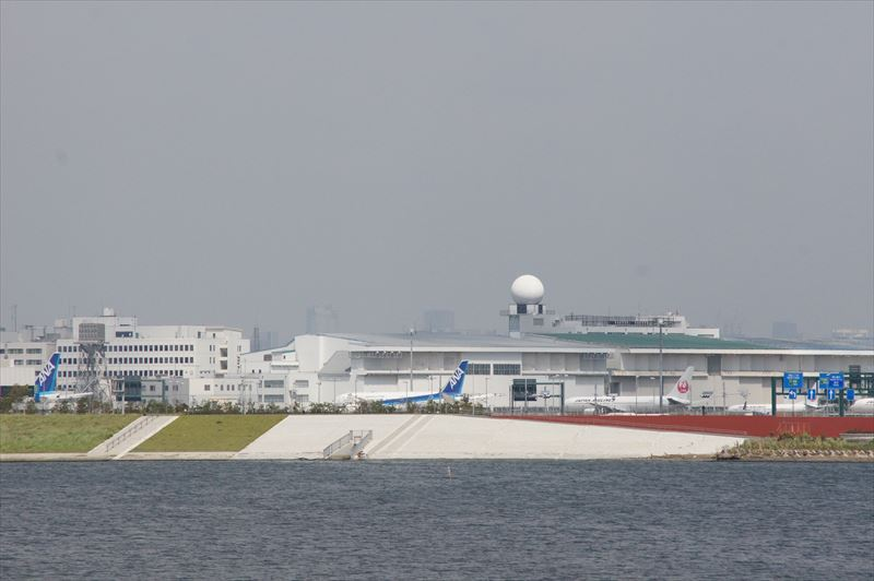 多摩川スカイブリッジ 羽田空港