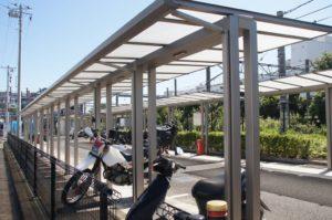 バイク専用駐輪場