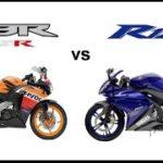 CBR125R vs YZF-R125