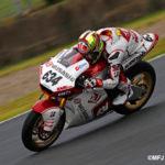 全日本ロードレースオートポリス大会 J-GP2 水野が優勝!