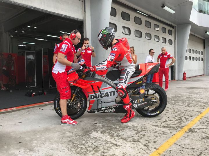 MotoGP Sepang TEST