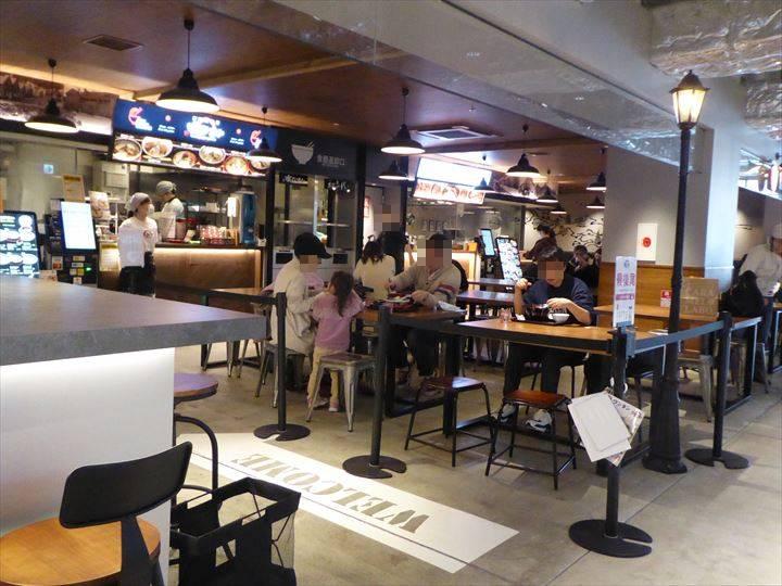 横浜ハンマーヘッド ラーメンフードホール