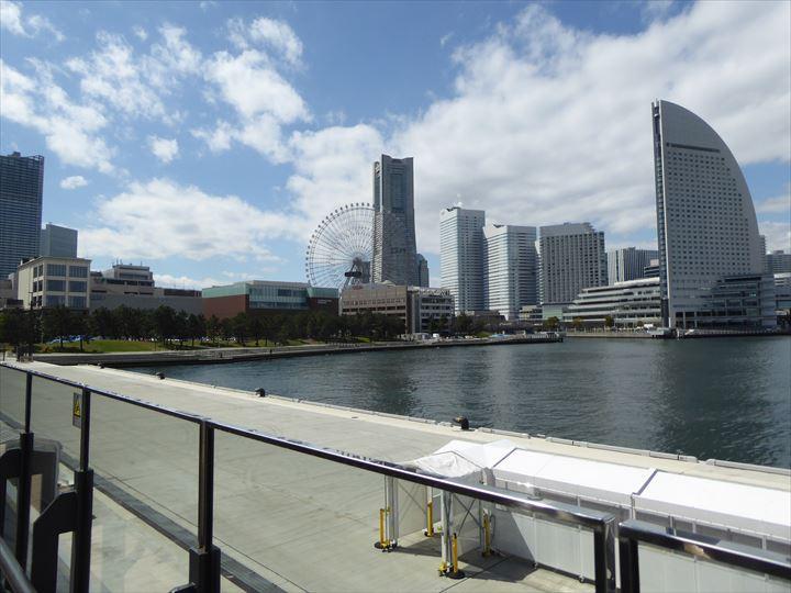 横浜ハンマーヘッド 景色